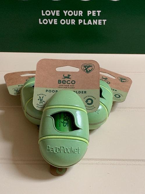 Beco Bamboo Poop Bag Dispenser