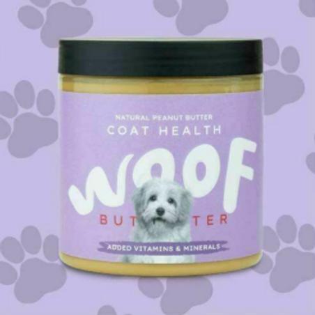 WOOF Natural Peanut Butter Coat Health