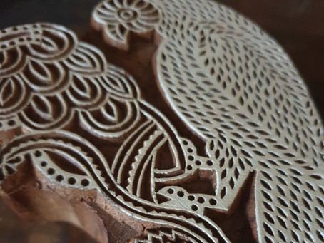 Blockprint stempels uit India