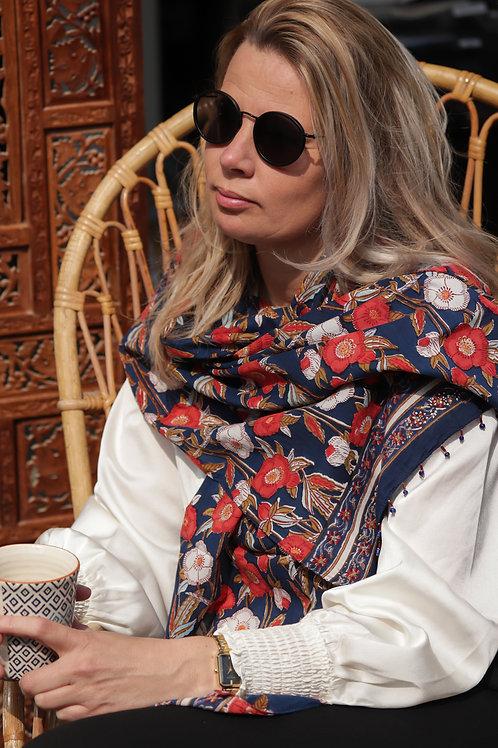 Sjaal Anokhi in diverse prints