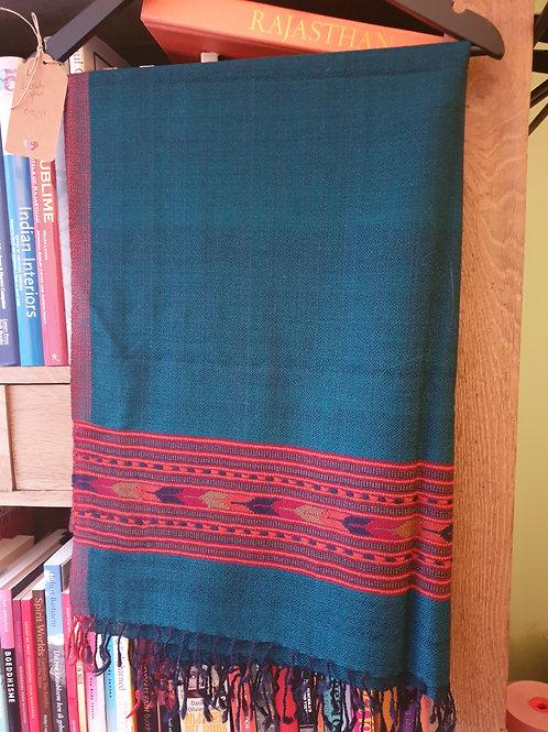 Wollen sjaal Varanasi
