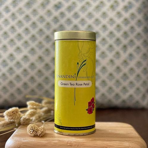 Green Tea Rose Petal - groene thee