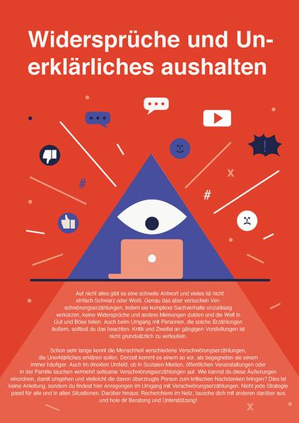 Poster Verschwörungserzählungen