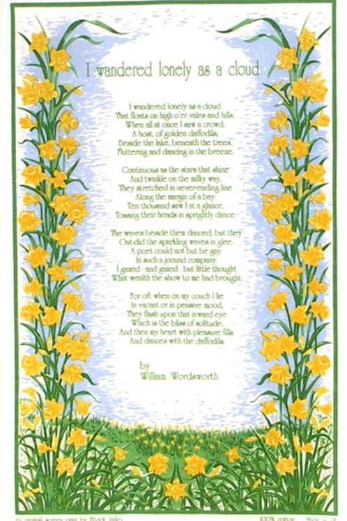 Daffodil Tea towel