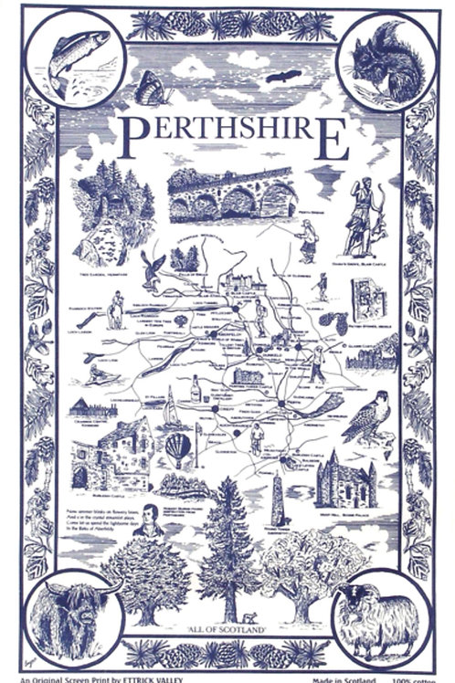 Perthshire Tea Towel