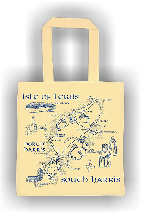 Lewis and Harris Cotton Bag
