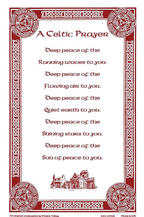 Celtic Prayer Tea towel