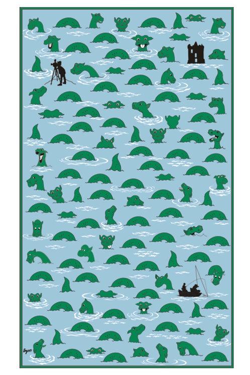 Nessie Hunt Tea towel