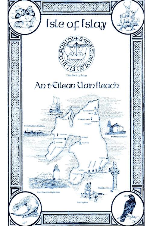 Isle of Islay Tea Towel