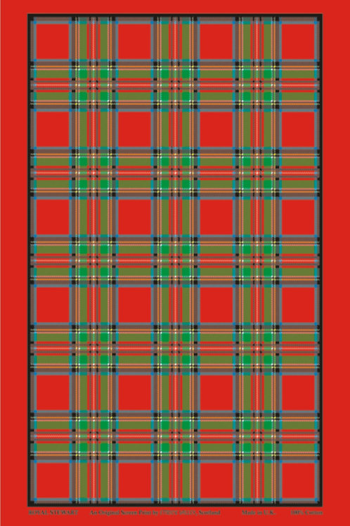 Royal Stewart Tartan Tea towel