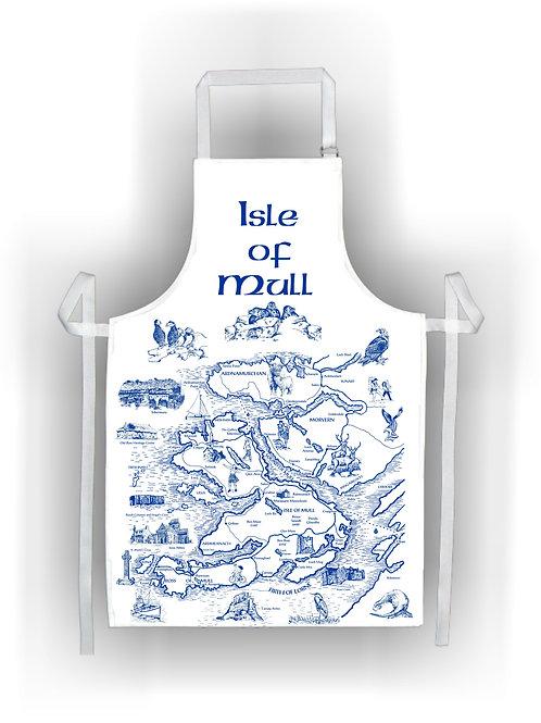 Isle of Mull Large Cotton Apron