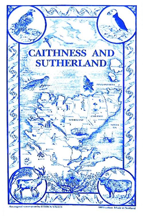 Caithness Tea Towel