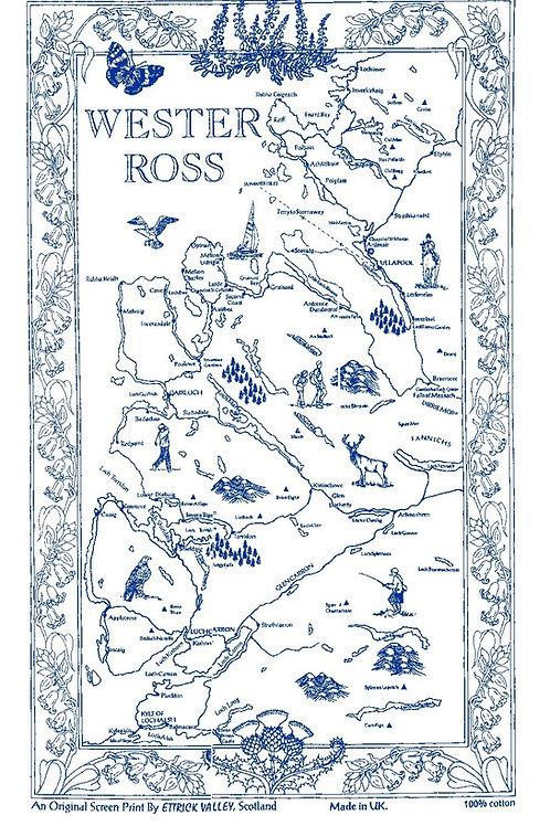 Wester Ross Tea Towel