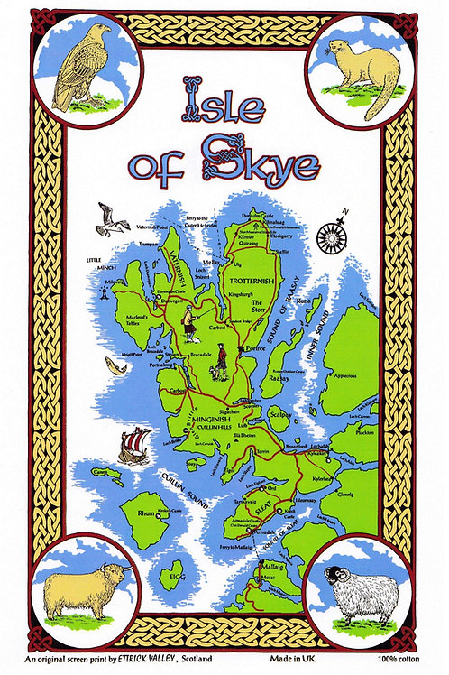 Isle of Skye Tea Towel