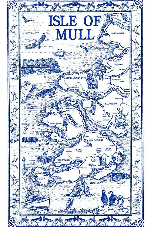 Isle of Mull tea Towel