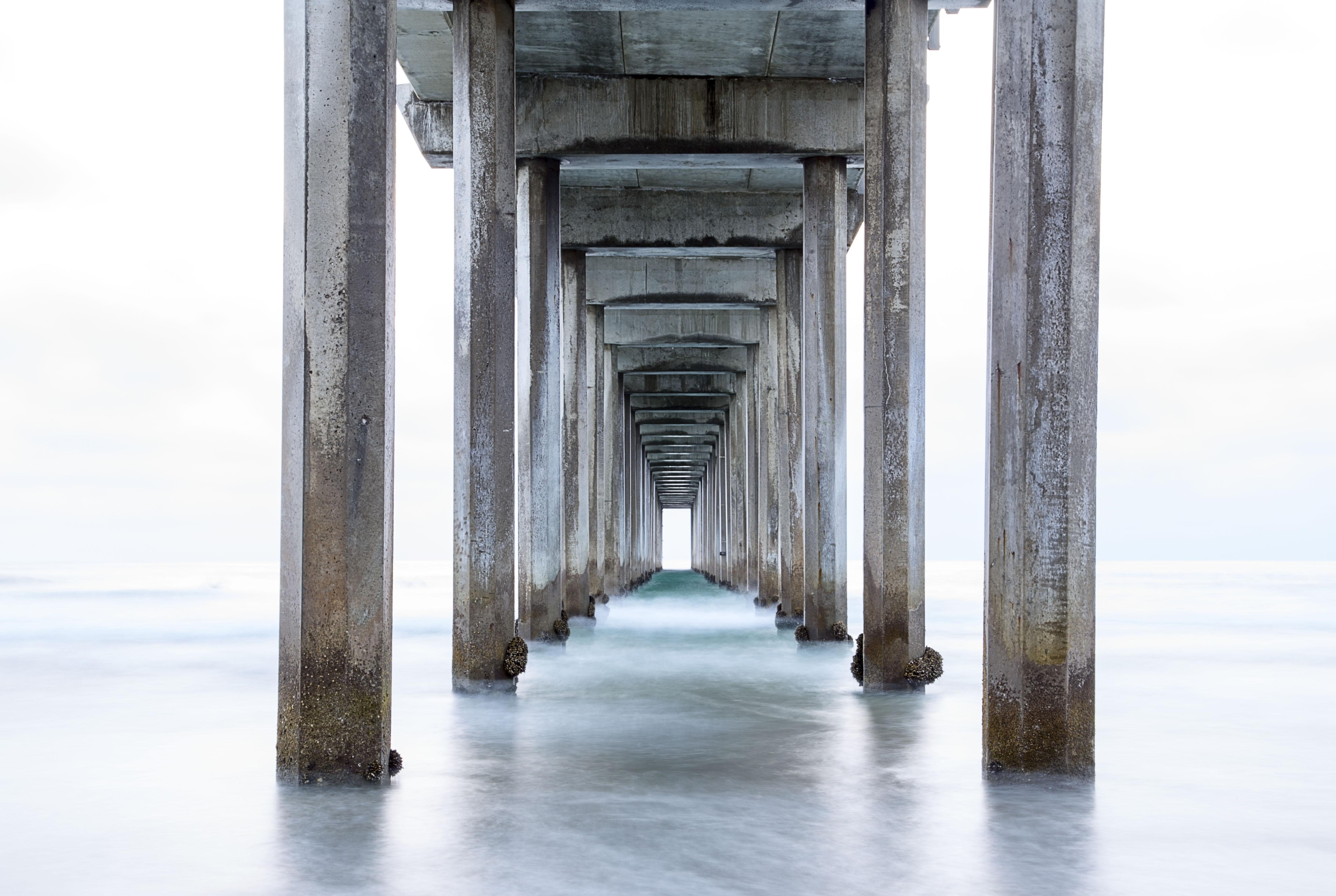 Under the Scrips Pier