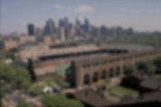 Franklin Field Philadelphia Skyline