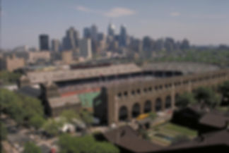 Franklin Field Philadelphia Skyline