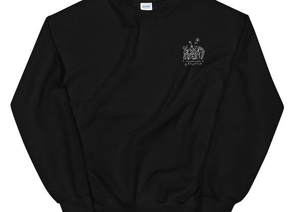 Hadestown Black Embroidery Sweatshirt