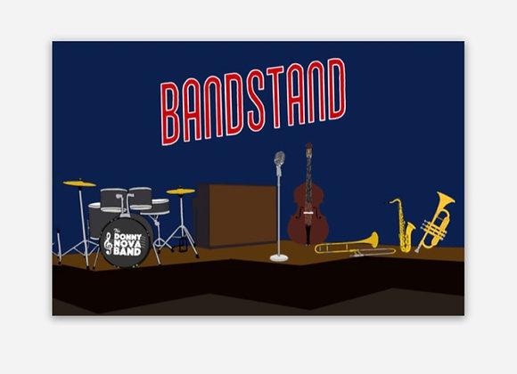 Bandstand Stage Sticker
