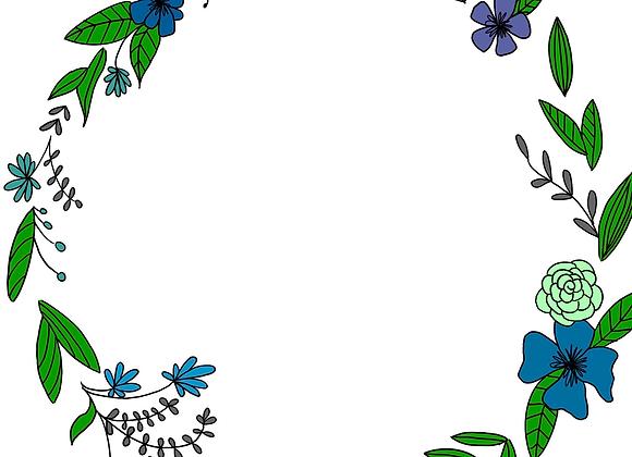 Floral Custom Wreath