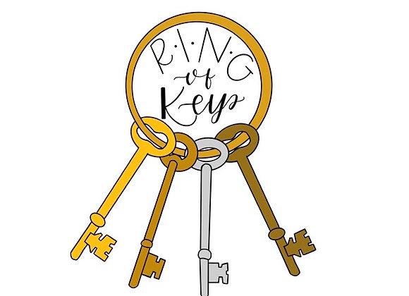 Ring of Keys Sticker