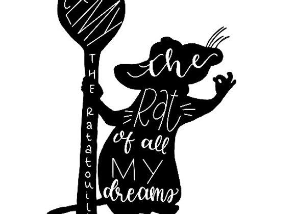 Remy the Ratatouille Sticker