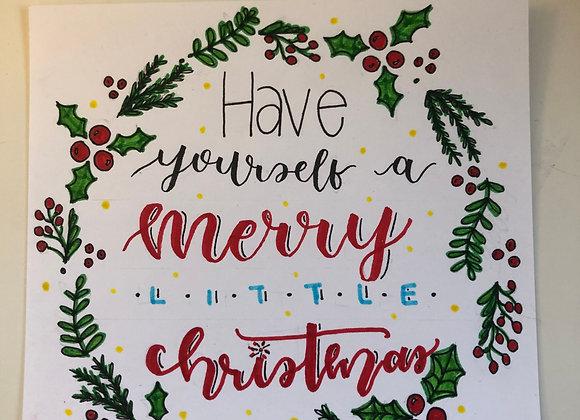 Custom Holiday Wreath