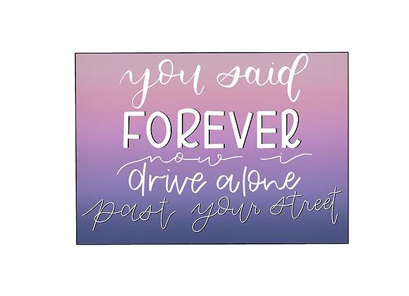 Drivers License Sticker