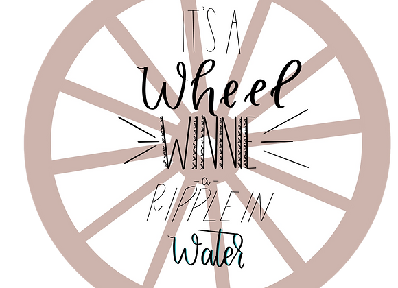 """The Wheel"" Tuck Everlasting Wreath DIGITAL"