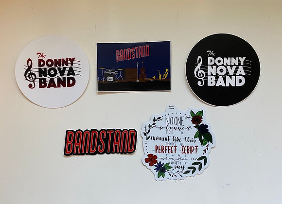 Bandstand Sticker Collection