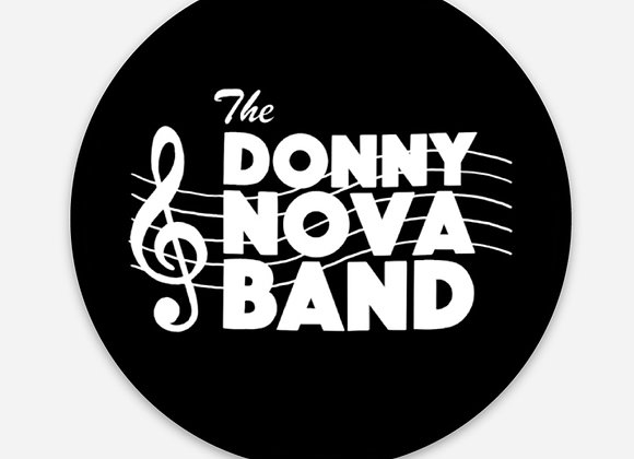 Donny Nova Band Logo Sticker