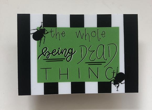 Beetlejuice Spooky Sticker