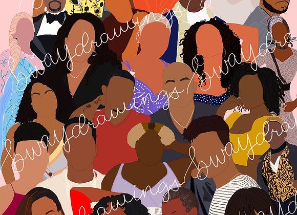 Celebrating Black Excellence Print