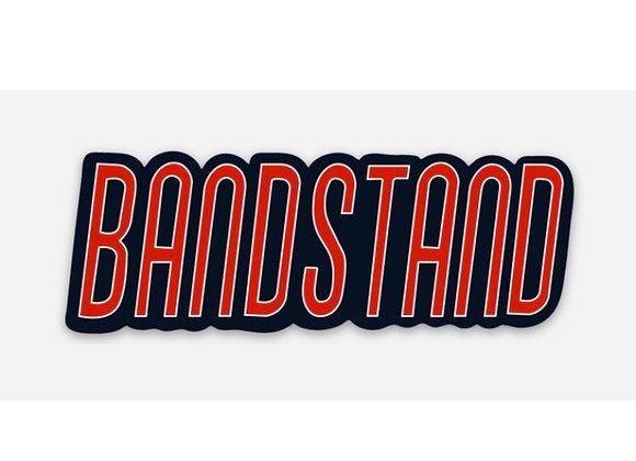 Bandstand Logo Sticker