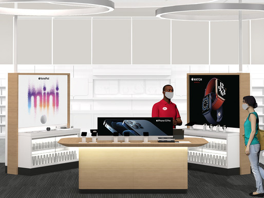Here's a First Look at the New, Elevated Apple Shopping Experience at Target