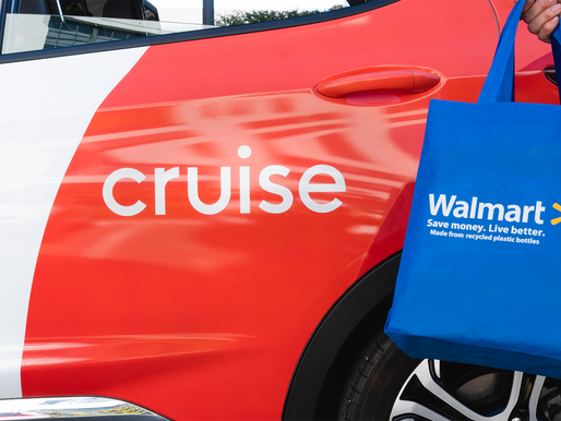 Walmart Invests in Cruise, the All-Electric Self-Driving Company