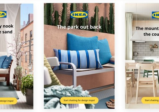 Ikea Evokes Vacation-Inspired Home Renovations with Pinterest Quiz