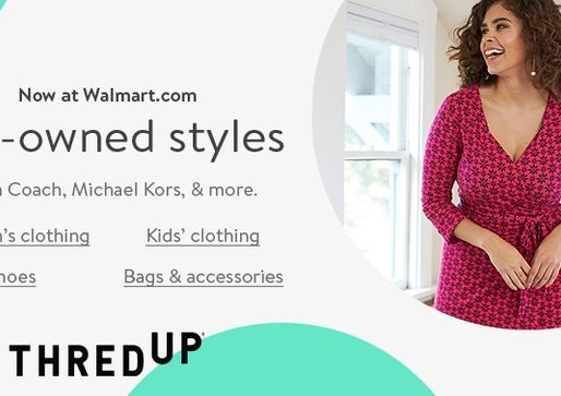 Walmart Joins Long Line of Retailers Partnering with Resale Site ThredUp