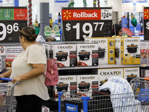 Walmart is Doubling Down on 'Rollbacks' as Inflation Pushes Prices Higher
