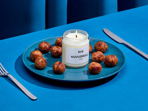 Ikea Releasing Swedish Meatball Smelling Candle for an At-Home Sensory Shopping Experience