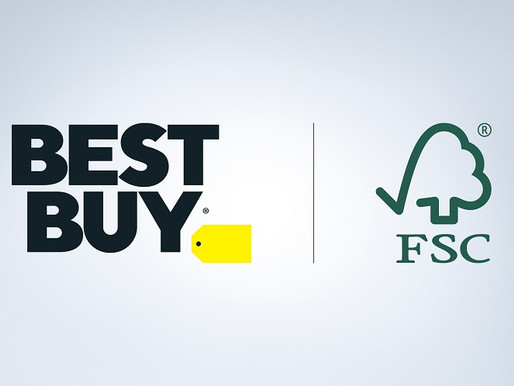 Best Buy Launches Forest Stewardship Council Certified Packaging