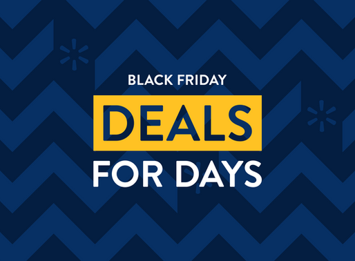 """Walmart Announces """"Black Friday Deals for Days,"""" a Reinvented Black Friday Shopping Experience"""