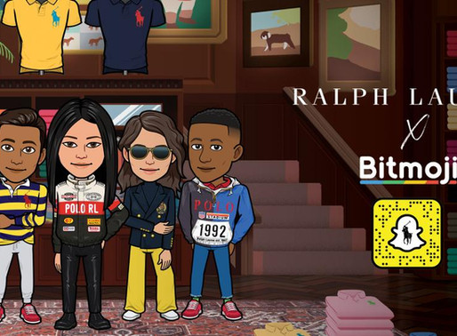 Ralph Lauren Teams up with Snapchat for Virtual Styles