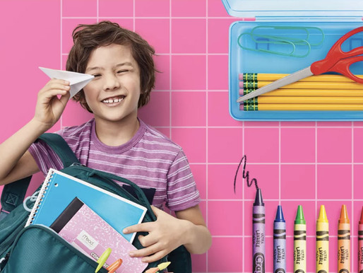 Now in Session: Target's Easy, Affordable Back-to-School Prep and All Your Family's Faves