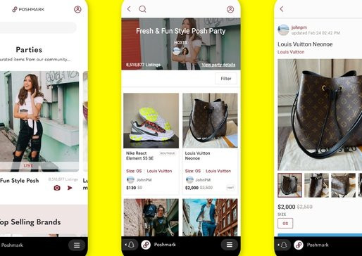 Poshmark and Snapchat Team Up on Social Shopping Experience