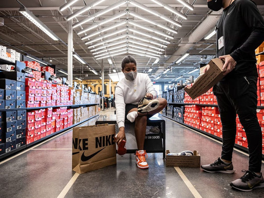 Nike to Clean and Resell Used Sneakers at Discount Prices in 15 US Stores