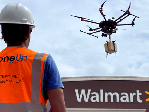 Walmart Invests in DroneUp, the Nationwide On-Demand Drone Delivery Provider
