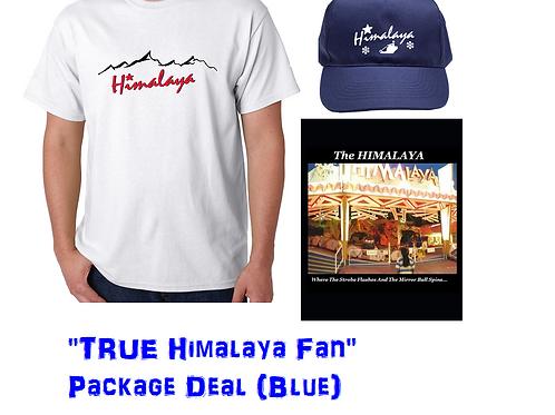 """""""TRUE Himalaya Fan"""" Package Deal (Blue)"""
