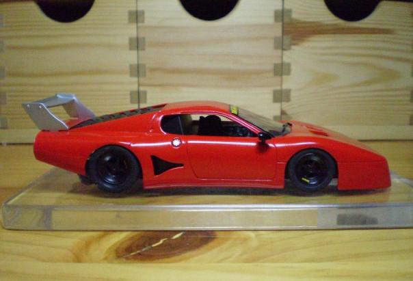 COLLEZIONE: CARRERA Ferrari 512 BB. Euforia y temor.